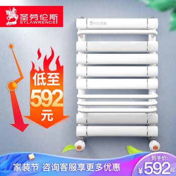 圣劳伦斯 暖气片家用铜铝小背篓 卫浴水暖散热器厨房卫生间小背篓 800*400中
