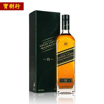 绿牌 调配型苏格兰威士忌 750ml*2瓶