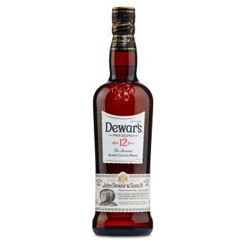 Dewar's 帝王 12年调配苏格兰威士忌700ml
