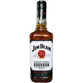 年货必囤!JIM BEAM白占边 波本威士忌 750ml