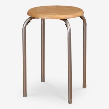 好事达 实惠木面钢套椅,下单半价