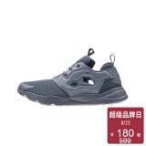 锐步(Reebok) FURYLITE OM 男子经典鞋EGB56 灰色-CN0026 43 180元