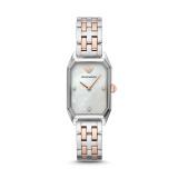 阿玛尼(Emporio Armani)手表 休闲镶钻方表盘钢带石英女表AR11146 券后 2390元