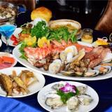 20种海鲜刺身+鱼翅澳龙雪蛤 深圳摩登克斯酒店自助午餐 158元/人