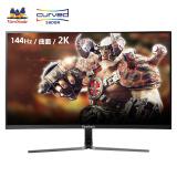 ViewSonic 优派 VX2758-2KC-PRO 27英寸 VA曲面电竞显示器(2560x1440、1800R、144Hz)1999元