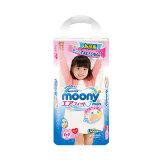 moony 尤妮佳 女婴用拉拉裤 XL38片 63.02