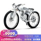 预售:Munro 门罗 2.0 复古电动摩托车 9999元包邮(需2000元定金)