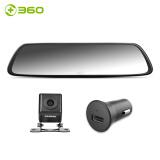 360 M301 后视镜行车记录仪 黑色 286元(需用券)