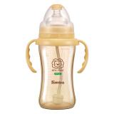 小狮王辛巴(simba) 吸管婴儿奶瓶 ppsu宽口径防胀气宝宝奶瓶中国台湾进口 *2件190元(合95元/件)