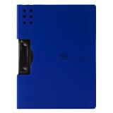 广博高质感A4横式加厚文件夹板/彩色档案夹飞兹 深蓝A6380 *9件 98元(合 10.89元/件)