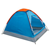 红色营地 户外帐篷 双人防风防雨野外露营帐篷 春晓蓝色 *3件 157元(合 52.33元/件)