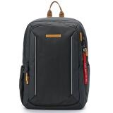 瑞士军刀威戈(Wenger)防泼水男女时尚休闲背包双肩包笔记本电脑包14英寸大容量 灰色 SGB10917107043 *2件 209.28元(合 104.64元/件)