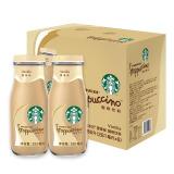星巴克(Starbucks) 咖啡饮料 星冰乐 香草口味281ml*6瓶装礼盒装 59.9元