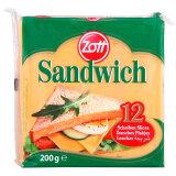 卓德(zott) 德国进口 三明治奶酪片 芝士片 200g(12片装) *9件 120.5元(合 13.39元/件)