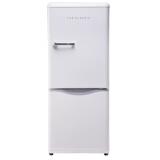 大宇(DAEWOO)ODF-M300W 150L 经典复古迷你小型双门电冰箱 家用无霜 冷藏保鲜 珍珠白色 2999元