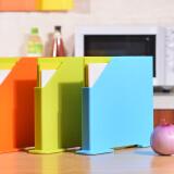 百露时尚健康塑料切菜板 分类砧板 糖果色防滑案板加厚菜板 橙色套装 *3件 79.8元(合 26.6元/件)