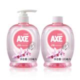 斧头牌(AXE)胡姬洗手液335ml(泵+补) 共2瓶 *10件 99元(合9.9元/件)