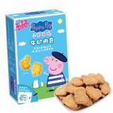 小猪佩奇 Peppa Pig 牛奶曲奇饼干 盒装 120g *2件 22.26元(合 11.13元/件)