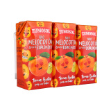 西班牙进口 赞美诗(ZUMOSOL)NFC果汁 葡萄桃汁200mL*3 非浓缩还原 100%纯果汁饮料果蔬汁 *10件 99元(合 9.9元/件)