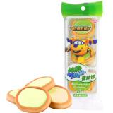 超级飞侠 蛋挞饼 抹茶牛奶味 果味夹心饼干 53g/袋 *35件 103元(合2.94元/件)