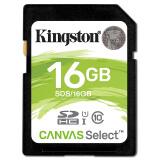 金士顿16GB SD卡 高速相机内存卡 Class10 UHS-I存储卡 37.9元