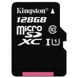 Kingston 金士顿 MicroSDXC UHS-I U1 Class10 TF存储卡 128GB 159元