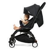 英国B-BEKO婴儿推车轻便折叠超轻小可上飞机可坐可躺 0-3岁婴儿车 伯爵黑 579元