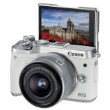 佳能(Canon) EOS M6(EF-M 15-45mm f/ 3.5-6.3)无反相机套机 3399元