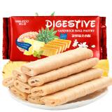 美伦多 夹心酥脆皮夹心饼干组合装 480g 菠萝味+榴莲味 9.9元包邮