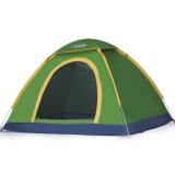 狼行者 速开全自动帐篷户外双人家庭套装防晒双人野营露营 果绿色 *2件+凑单品 99元(合 49.5元/件)