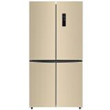 康佳(KONKA) BCD-450WEGX4SP 450升 双变频节能 十字对开冰箱 2598元