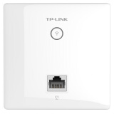 TP-LINK TL-AP1202GI-PoE AC1200双频无线86型面板式AP 企业级酒店别墅wifi接入 千兆端口 POE供电 AC管理 299元