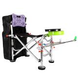 畅意游 Easy Tour 便携垂钓椅子 渔具用品炮台户外钓椅折叠椅伞架 多功能钓鱼椅套装 99元