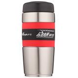 华亚 28号不锈钢保温杯 创意男女士水杯 车载保温瓶 真空商务便携过滤网茶杯子 500ml红色 HA28-500 *4件+凑单品 99元(合24.75元/件)