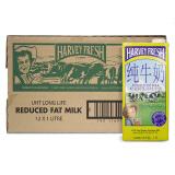 澳大利亚 进口牛奶 哈威鲜(Harvey fresh)牛奶 低脂纯牛奶 1L*12盒 69元