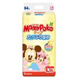 MamyPoko 妈咪宝贝 婴儿纸尿裤 进口版 L号 54片 *10件 +凑单品 363.71元含税包邮(合36.37元/件)