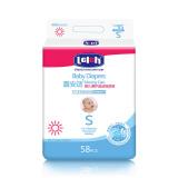 lelch 露安适 婴儿薄护适动 纸尿裤 S58片 *3件+凑单品300.9元(合100.3元/件) 300.90