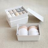 FOOJO 内衣 收纳盒 3只装 *3件+凑单品 101.1元(合 33.7元/件)
