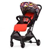 宝宝好Y1婴儿推车可坐可躺超轻便携高景观可折叠可变拉杆箱婴儿车花色 319元