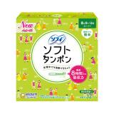 unicharm 尤妮佳 导管式 量多日用型 轻柔卫生棉条 32条 *4件 ¥99.6+¥11.16含税直邮(约¥111)
