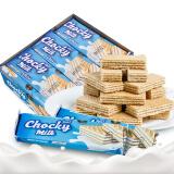 比斯奇果屋巧客 牛奶味夹心威化饼干 32g*13袋 *13件 106.7元(合 8.21元/件) 包邮