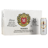 Mecklenburger 梅克伦堡 小麦啤酒 500ml*24听 89元,可优惠至53.4元/件