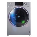 松下(Panasonic)8公斤大容量变频全自动滚筒洗衣机 泡沫净 三维立体洗 精准智控 (银色)XQG80-E78S2H+凑单品 券后 2591.61元