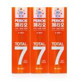 韩国 LG倍瑞傲 七合一全优倍护牙膏 120g×3支 (橘色柠檬舒缓) *3件 70.74元(合23.58元/件)