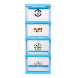 爱丽思(IRIS) 迪士尼抽屉式塑料收纳柜儿童柜整理柜储物柜 蓝色 32*42*86cm *3件 415.8元(合 138.6元/件)