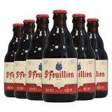 St-Feuillien 圣佛洋 棕啤酒 礼盒装 330ml*6瓶 *3件 206.8元包邮(双重优惠)