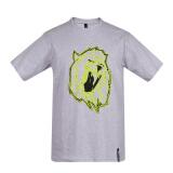 范思哲 范瑟丝 VERSACE VERSUS 奢侈品 男士灰色棉质圆领短袖T恤 BU90546 BJ10289 B8636 L码 399.5元