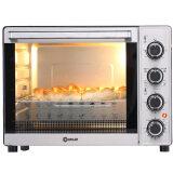 ¥190 Donlim 东菱 DL-K33B 立方体内胆 家用全温型多功能电烤箱33L