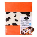 百钻糖果包装纸 牛轧糖糖纸桔边奶牛糖纸防油纸 手工做牛扎糖烘焙糖果纸50张 *5件14.75元(合2.95元/件)