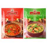 泰国进口 泰娘 红咖喱绿咖喱 50g*2袋 9.9元
